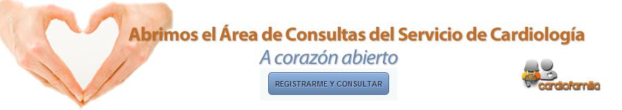 Registrarse para hacer consultas al Servicio de Cardiología del Hospital Clínico Universitario Virgen de la Victoria