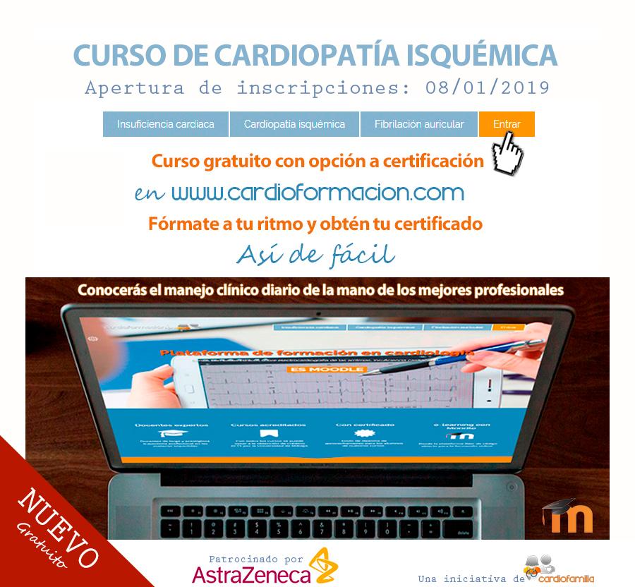 CURSO GRATIS CARDIOPATIA ISQUEMICA CARDIOFORMACION