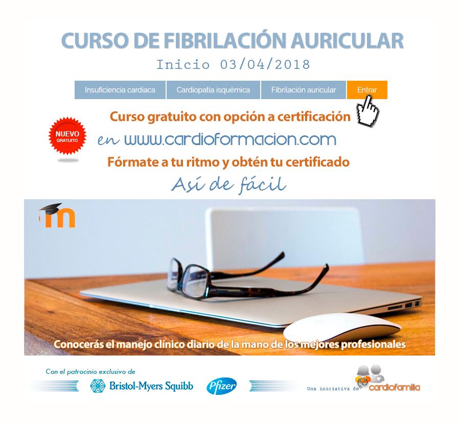 CURSO GRATIS FIBRILACION AURICULAR CARDIOFORMACION