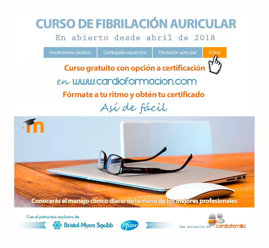 CURSO GRATIS FIBRILACION AURICULAR CARDIOFORMACION B